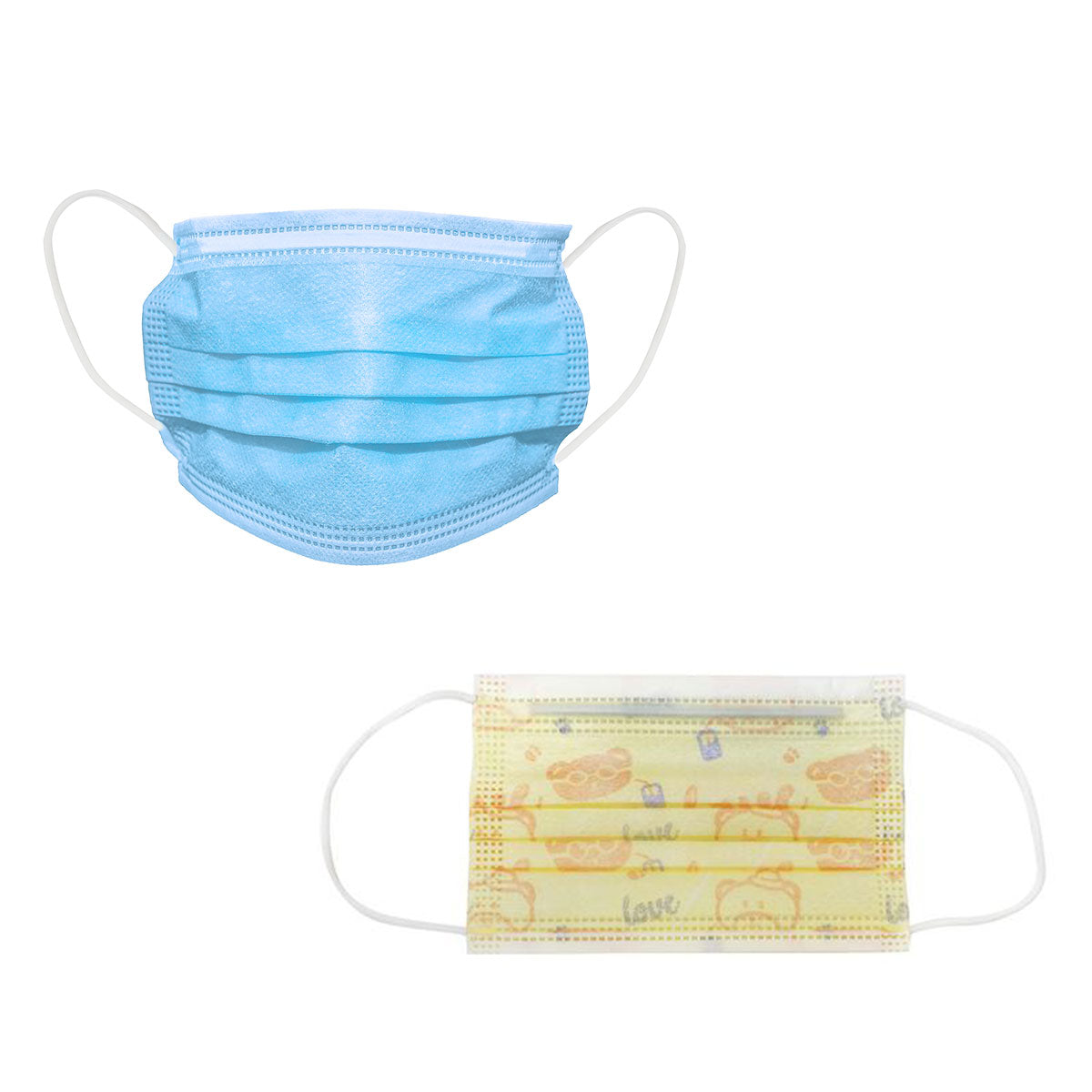 C2W Health coupon: 50 PACK Kids Disposable Mask + 50 PACK 3 Ply Disposable Masks