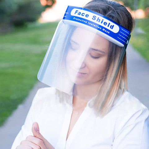 30% off Protective Face Shields and Free Shipping