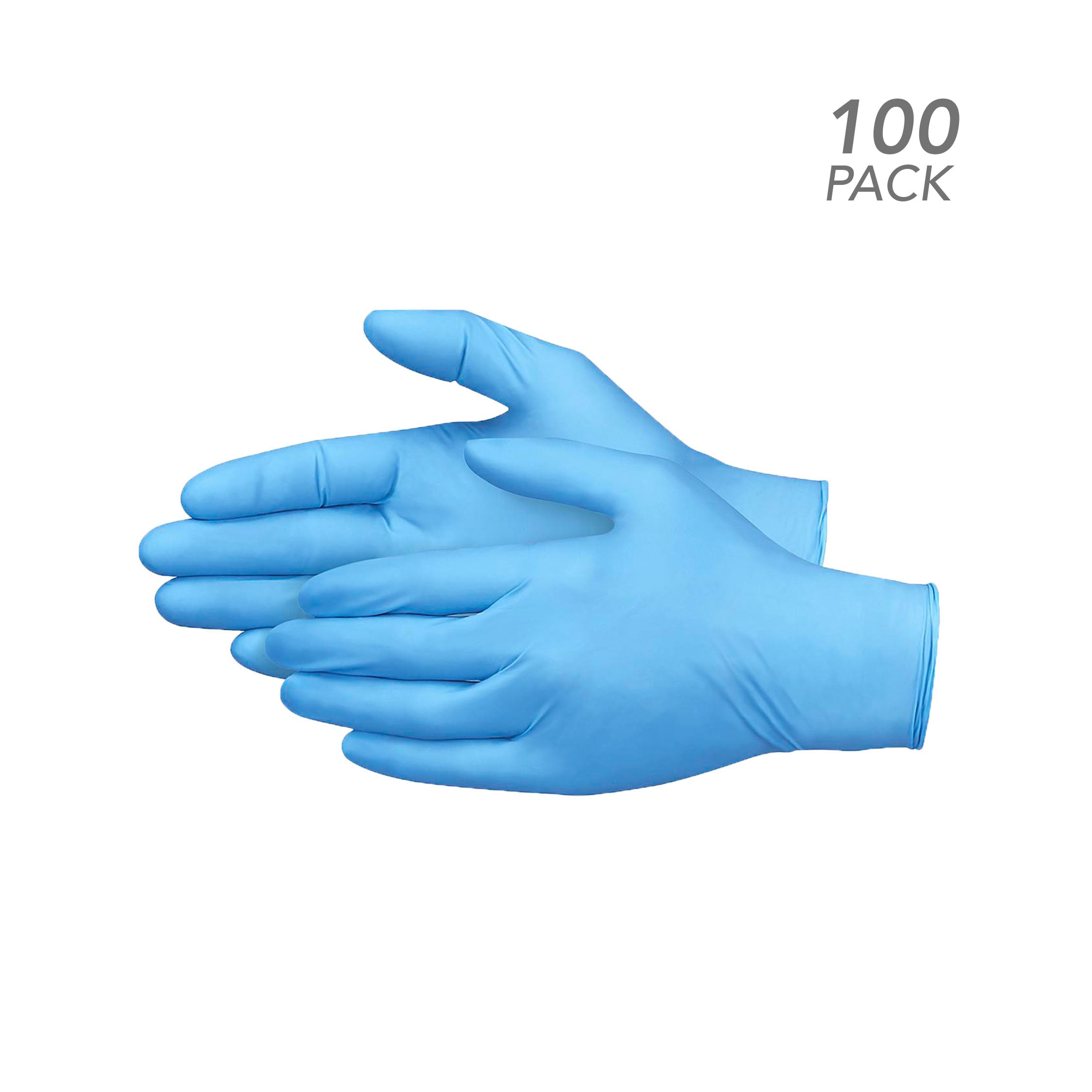 100 Pack - Nitrile Gloves