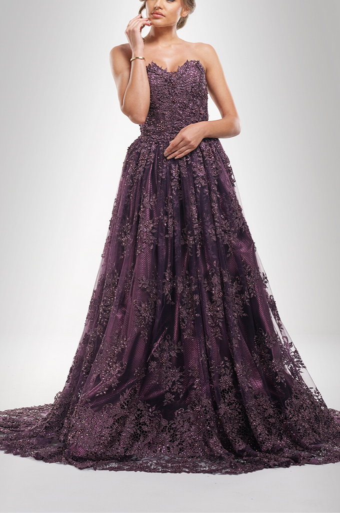 Amethyst Ball Gown