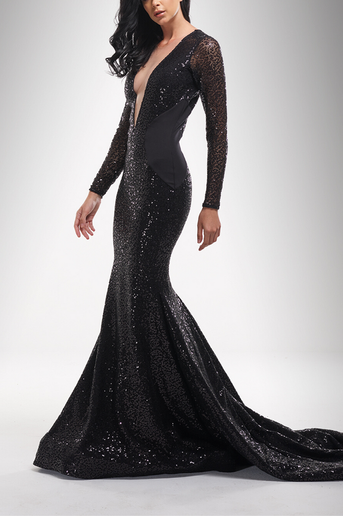 Midnight Star Gown