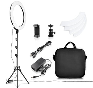 "18"" Ring Light Professional `Package - Light Lux"