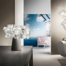 Load image into Gallery viewer, SLAMP LIGHTING | Clizia Fumé Table Lamp - Battery Powered