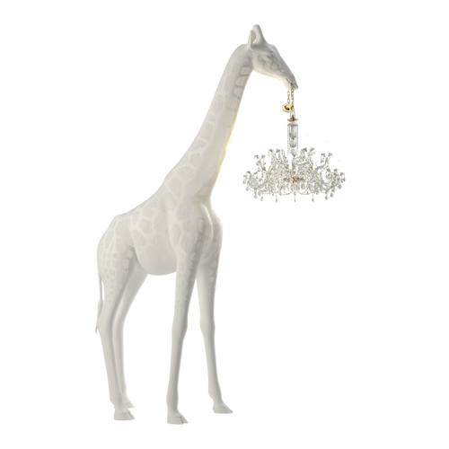 QEEBOO | Giraffe In Love Chandelier - Outdoor - White (4 Meters)