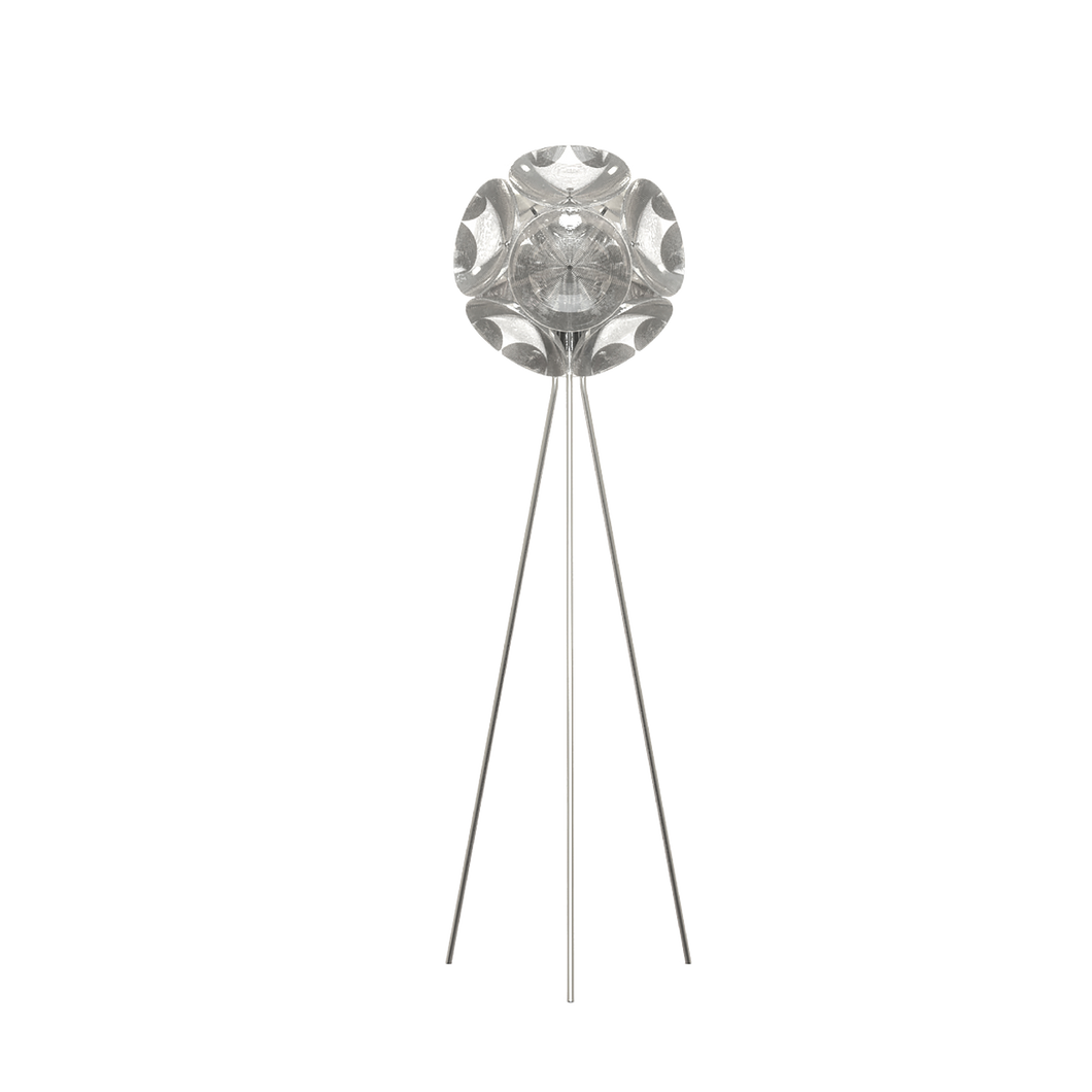 QEEBOO | Pitagora Freestanding Lamp - Transparent