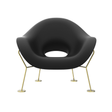 Load image into Gallery viewer, QEEBOO | Pupa Armchair - Brass Base - Indoor (Multiple Colours Available)