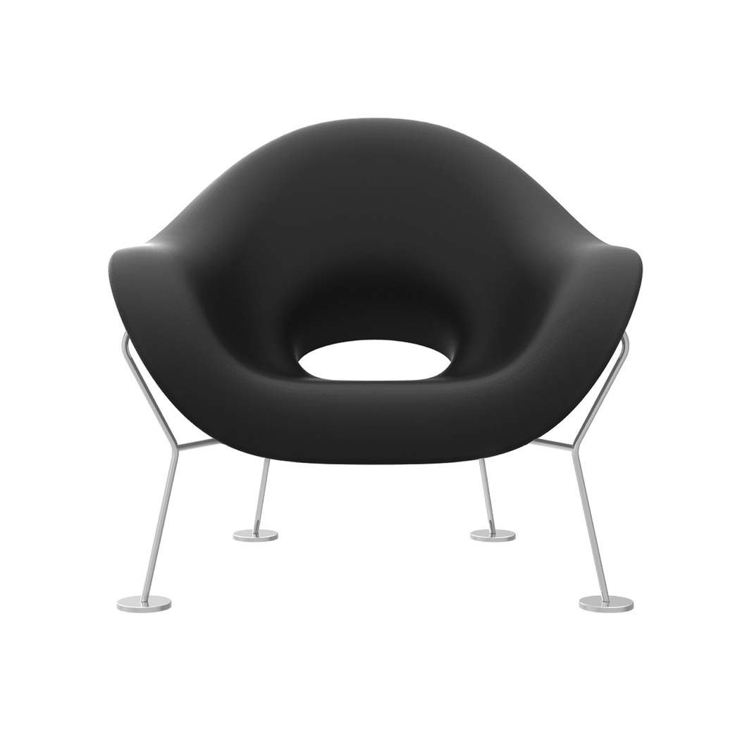 QEEBOO | Pupa Armchair - Chrome Base - Indoor (Multiple Colours Available)