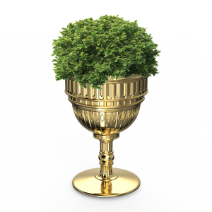 QEEBOO | Capitol Planter / Champagne Cooler - Metal Finish (Gold & Silver Available)