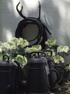 GARDEN GLORY | Black Swan Wall Mount (Garden Hose Combinations)