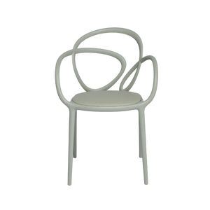 QEEBOO | Loop Chair With Cushion - Set Of 2 Pieces (Multiple Colours Available)