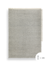 Load image into Gallery viewer, FERM LIVING | Way Rug - Off-White/Dark Blue