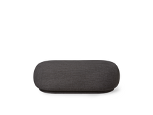 Load image into Gallery viewer, FERM LIVING | Rico Ottoman Boucle - Dark Grey