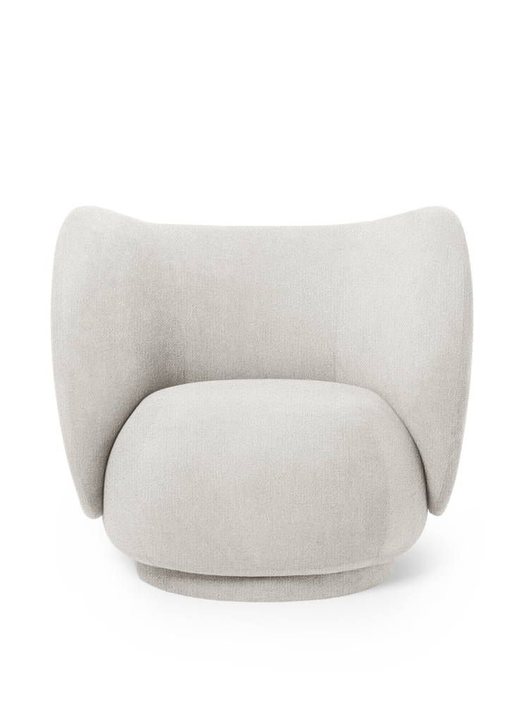 FERM LIVING | Rico Lounge Chair - Off-White