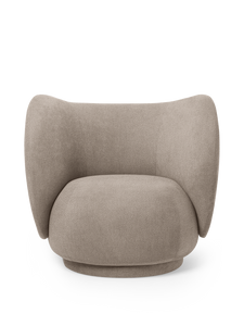 FERM LIVING | Rico Lounge Chair - Sand
