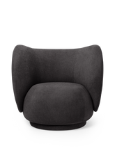 Load image into Gallery viewer, FERM LIVING | Rico Lounge Chair - Dark Grey