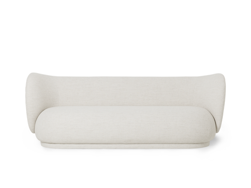 FERM LIVING | Rico Sofa 3 Bouclé - Off-White