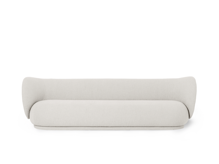 FERM LIVING | Rico Sofa 4 Bouclé - Off-White