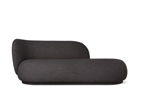 FERM LIVING | Rico Divan Boucle - Dark Grey