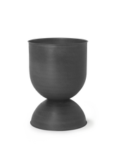 Load image into Gallery viewer, FERM LIVING | Hourglass Pot - Medium - Black