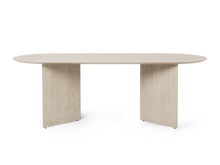 Load image into Gallery viewer, FERM LIVING | Mingle Wood Table Top - Oval (Multiple Sizes & Finishes)