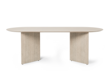 Load image into Gallery viewer, FERM LIVING | Mingle Wood Table Legs (Multiple Sizes & Finishes)