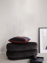 Load image into Gallery viewer, FERM LIVING | Pouf Oval - Faded Velvet Mokka - Medium