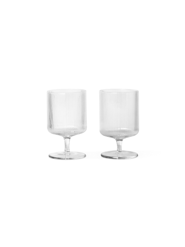 FERM LIVING | Wine Glasses (Set Of 2) - Clear