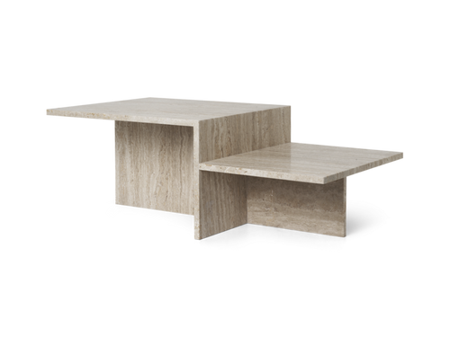 FERM LIVING | Distinct Coffee Table - Travertine