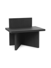 Load image into Gallery viewer, FERM LIVING | Oblique Stool Black