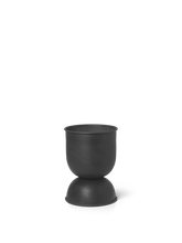 Load image into Gallery viewer, FERM LIVING | Hourglass Pot - Extra Small - Black