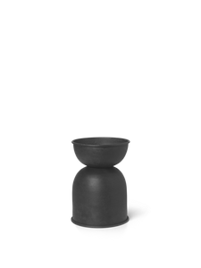 FERM LIVING | Hourglass Pot - Extra Small - Black