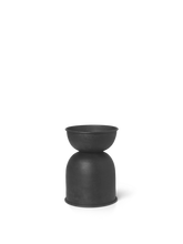 Load image into Gallery viewer, FERM LIVING | Hourglass Pot - Small - Black