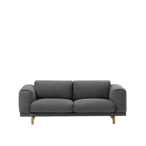 MUUTO | Rest Sofa - 2 Seater (Multiple Colours Available)