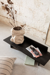 FERM LIVING | Oblique Bench Natural Black