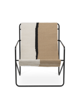 Load image into Gallery viewer, FERM LIVING | Desert Lounge Chair - Black Frame (Multiple Colours)