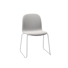 Load image into Gallery viewer, MUUTO | Visu Chair - Sled Base - Textile Seat (Steelcut Trio 133/Grey)