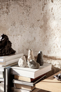FERM LIVING | Vulca Mini Vase Off-white Stone