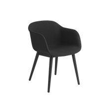 Load image into Gallery viewer, MUUTO | Fiber Armchair - Wood Base - Textile Seat (Multiple Colours Available)