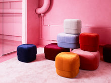 Load image into Gallery viewer, NORMANN COPENHAGEN | Circus Pouf Yellow (Multiple Sizes)
