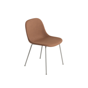 MUUTO | Fiber Side Chair - Tube Base - Textile Seat (Multiple Colours Available)