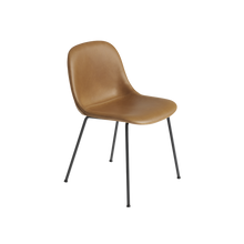Load image into Gallery viewer, MUUTO | Fiber Side Chair - Tube Base - Leather Seat (Multiple Colours Available)