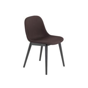 MUUTO | Fiber Side Chair - Wood Base - Textile Seat (Multiple Colours Available)