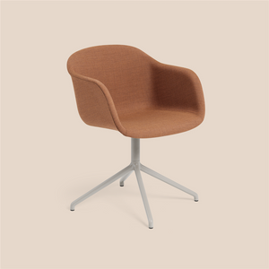 MUUTO | Fiber Armchair - Swivel Base - Textile Seat (Multiple Colours Available)