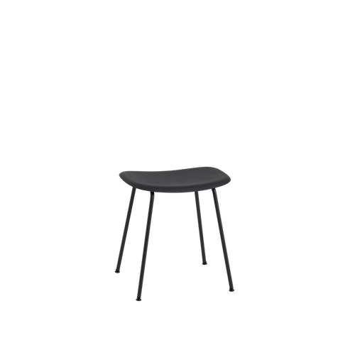 MUUTO | Fiber Stool - Tube Base - Fiber Seat (Multiple Colours Available)