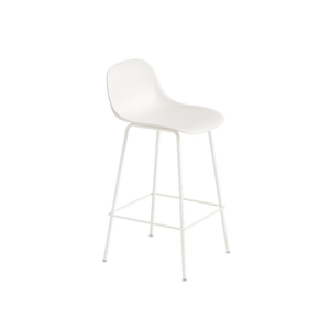 MUUTO | Fiber Bar Stool - Tube Base - 65cm (Multiple Colours Available)