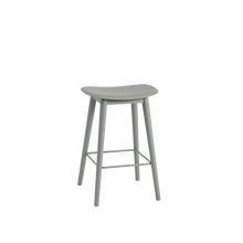 Load image into Gallery viewer, MUUTO | Fiber Bar Stool - Wood Base - 65cm (Multiple Colours Available)