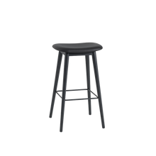 Load image into Gallery viewer, MUUTO | Fiber Bar Stool - Wood Base - 75cm (Multiple Colours Available)