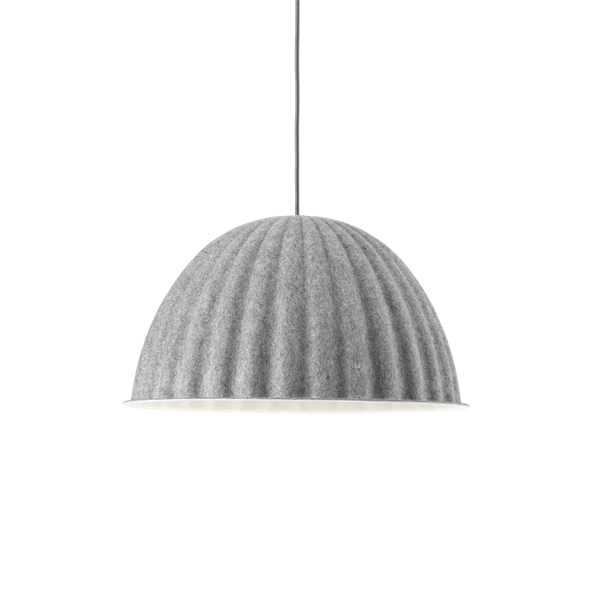 MUUTO | Under The Bell Pendant Lamp - Grey (Small/Large Available)