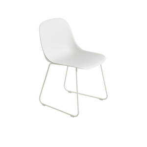 MUUTO | Fiber Side Chair - Sled Base - Fiber Seat (Multiple Colours Available)