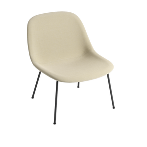 MUUTO | Fiber Lounge Chair - Tube Base - Textile Seat (Multiple Colours Available)